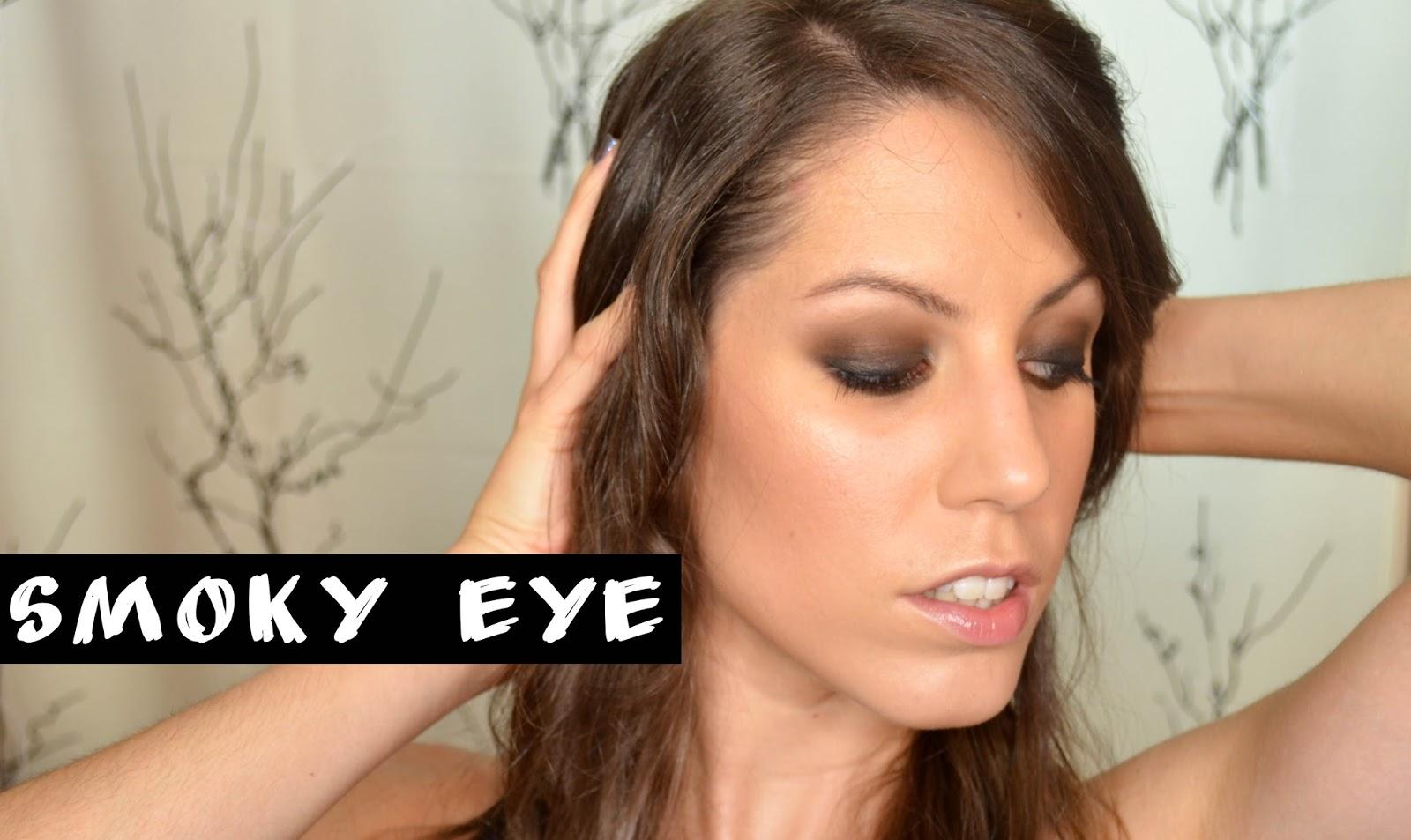 smoky eye smokey clasico negro makeup maquillaje ahumado rubibeauty