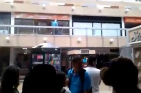Intento de Suicidio en un Centro Comercial