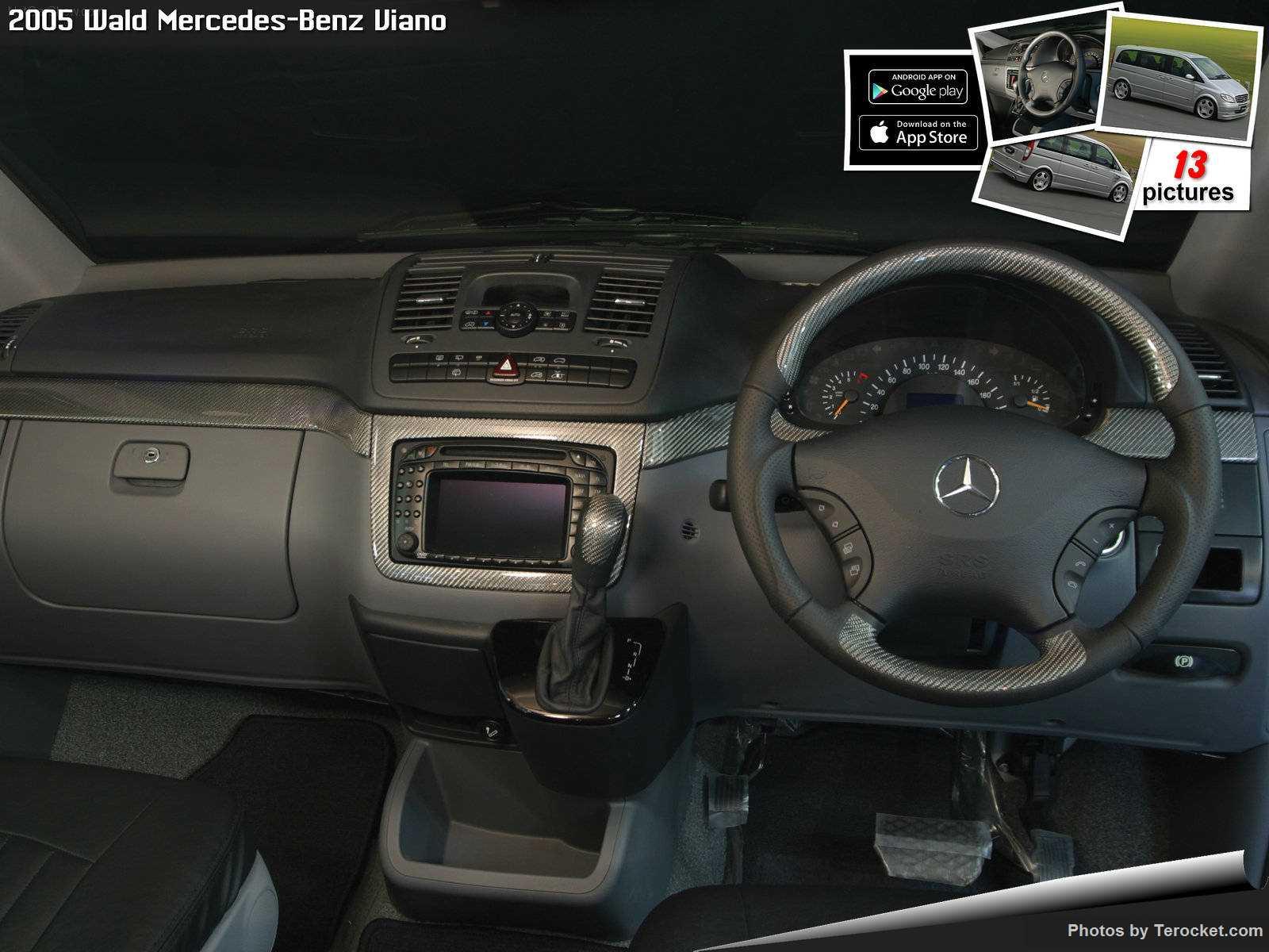 Hình ảnh xe độ Wald Mercedes-Benz Viano 2005 & nội ngoại thất