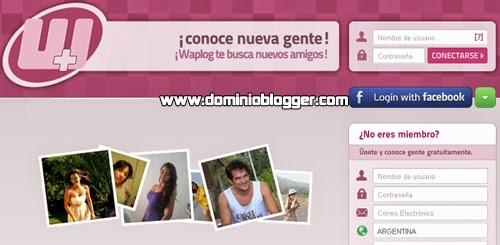 Encuentra pareja en internet en la red social de Waplog
