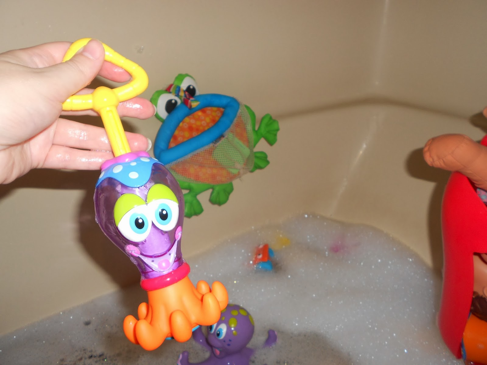 Inspired by Savannah: Another Bath Time Favorite -- Nuby\'s Squid ...