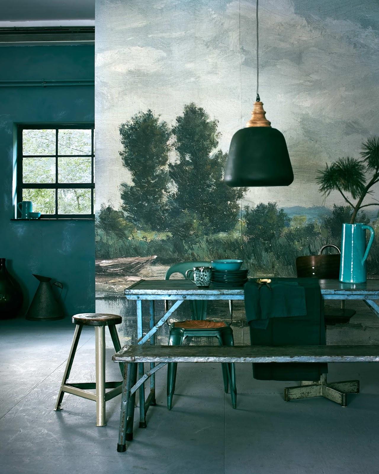 le retour du vert sapin en d co. Black Bedroom Furniture Sets. Home Design Ideas