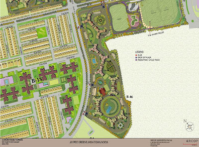 Jaypee Greens Garden Isles Site Plan Layout