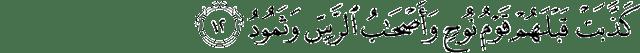 Surat Qaaf ayat 12