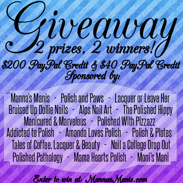 Nail Bloggers Group Giveaway