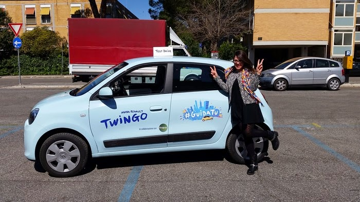 test drive nuova twingo