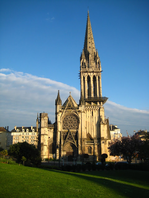 Saint-Jean church in Caen, France.