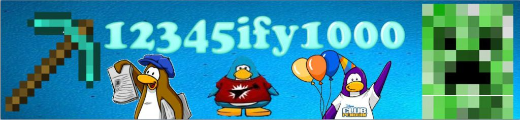 Official Website for 12345ify1000 | Minecraft Seeds, Club Penguin Cheats & More!