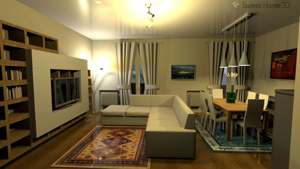 Nice One Great Program In Ubuntu Is Called Sweet Home 3D And You Can Find It  Right In The Ubuntu Software Center. Sweet Home 3D Is An Interior Design  Application ...