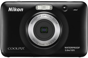 Nikon Coolpix S30 Rugged Camera
