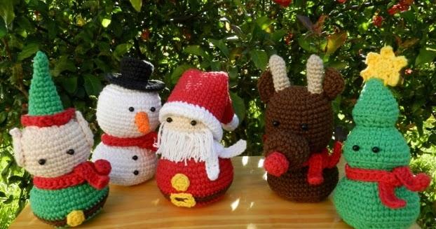 Amigurumis Navidad 2015 : Daxa rabalea prepar�ndonos para navidad reto amistoso n�