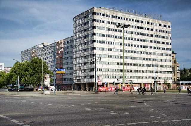 Baustelle Das Haus der Statistik, Otto-Braun-Straße / Karl-Marx-Allee, 10178 Berlin, 04.10.2013