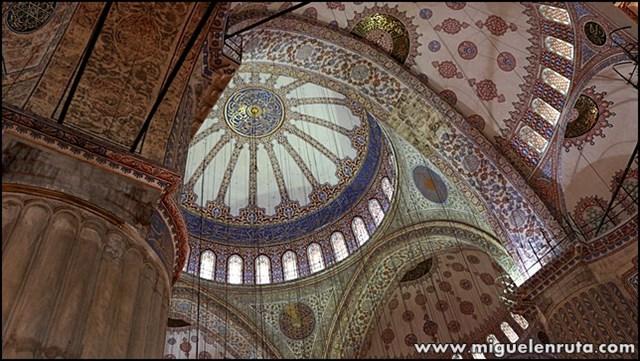 Mezquita-Azul-bóveda_3