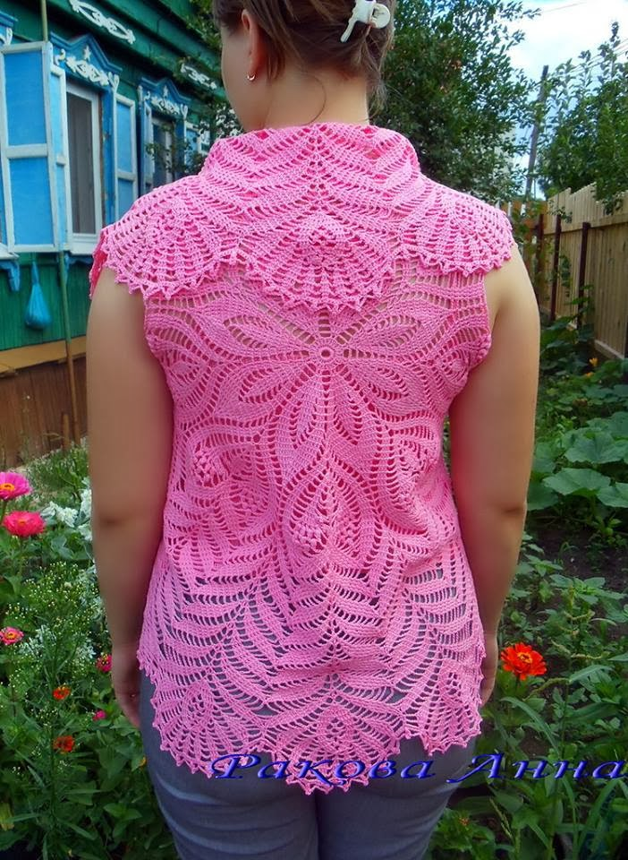 crochet so beauty bolero from circle