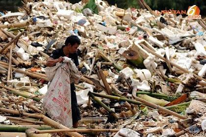Rumah Tangga Penyumbang Sampah Terbesar di Indonesia