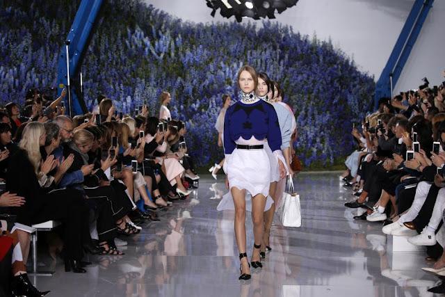 Christian Dior Collection at Paris Fashion Week