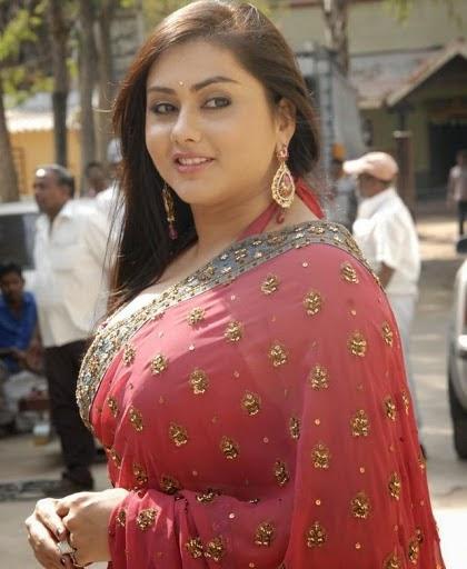 Namitha Gorgeous Saree Pictures   Namitha Charming Look ... Naayak