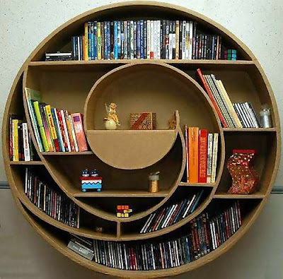 Creative Bookshelves and Awesome Bookcases (15) 12
