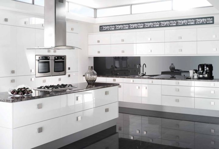 Modern White Kitchen Cabinets White Cabinets For Kitchen Kitchen