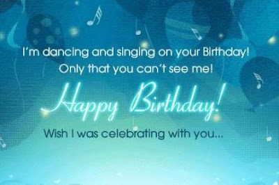 Best Light Sky Blue Birthday Wishes Wallpaper