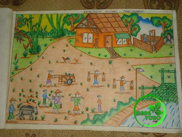 Tema : Pedesaan dengan nilai 95