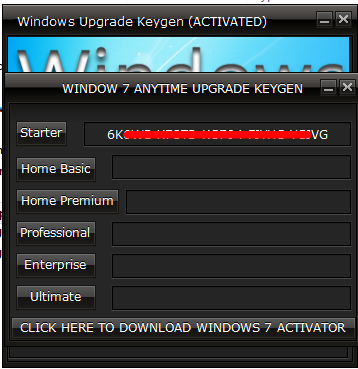 windows 7 home basic upgrade keygen