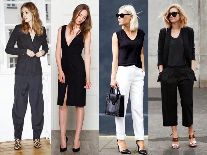 Minimal and chic street style tailored