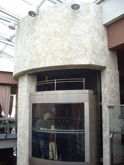 Декоративна мазилка асансьор 1