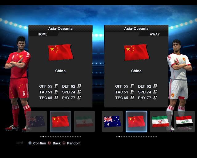 China 2012/13 Kitset - PES 2013