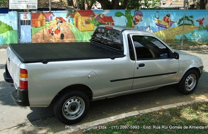 Ford Courier 2008 1.6 Flex, lateral direita