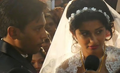 Meera Jasmine wedding stills