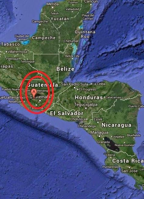 Magnitude 4.3 Earthquake of Tecpan Guatemala, Guatemala 2014-08-31