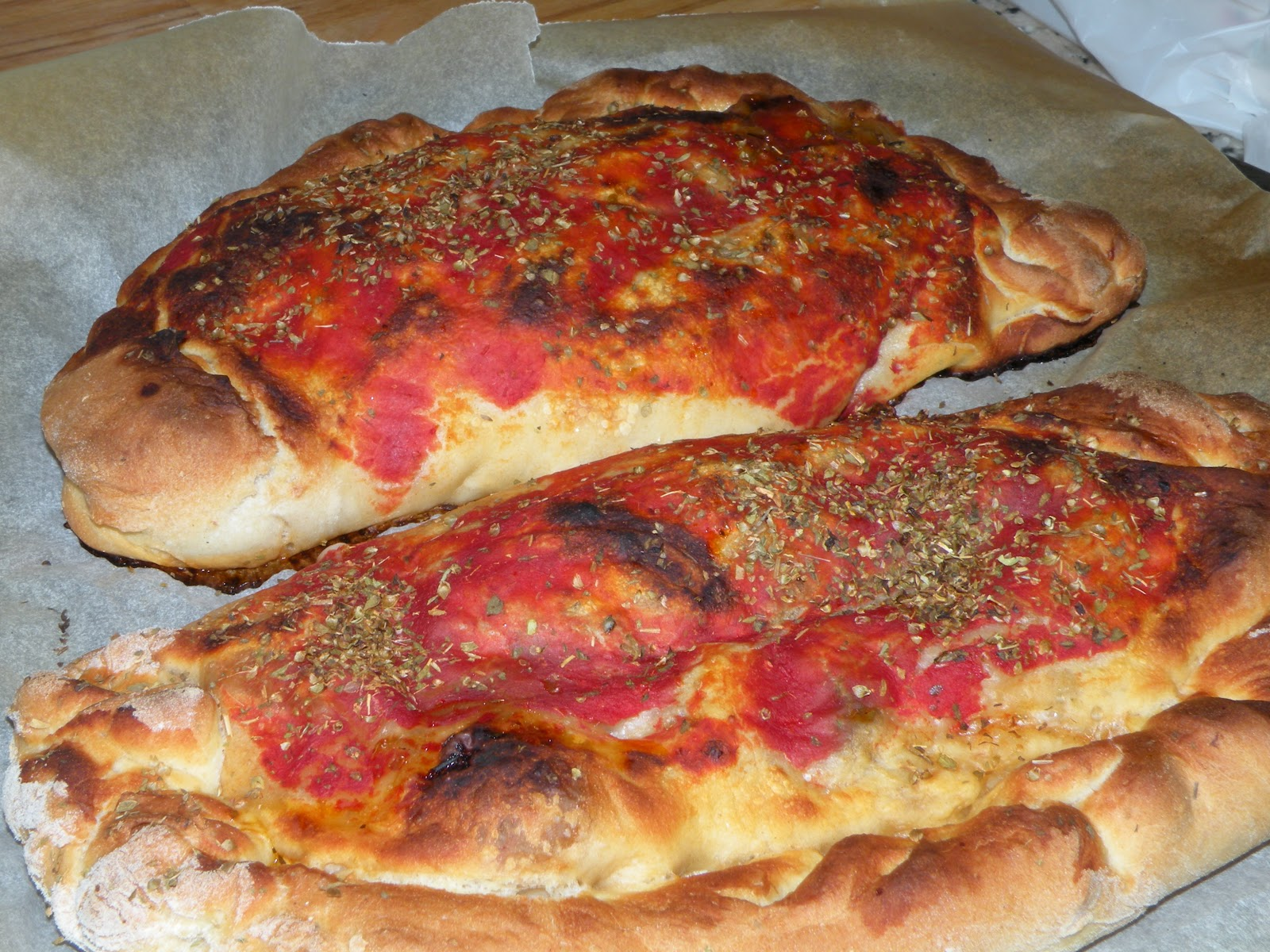 Mis pinitos de cocina calzone de boletus con masa de for Cocina 5 ingredientes jamie oliver