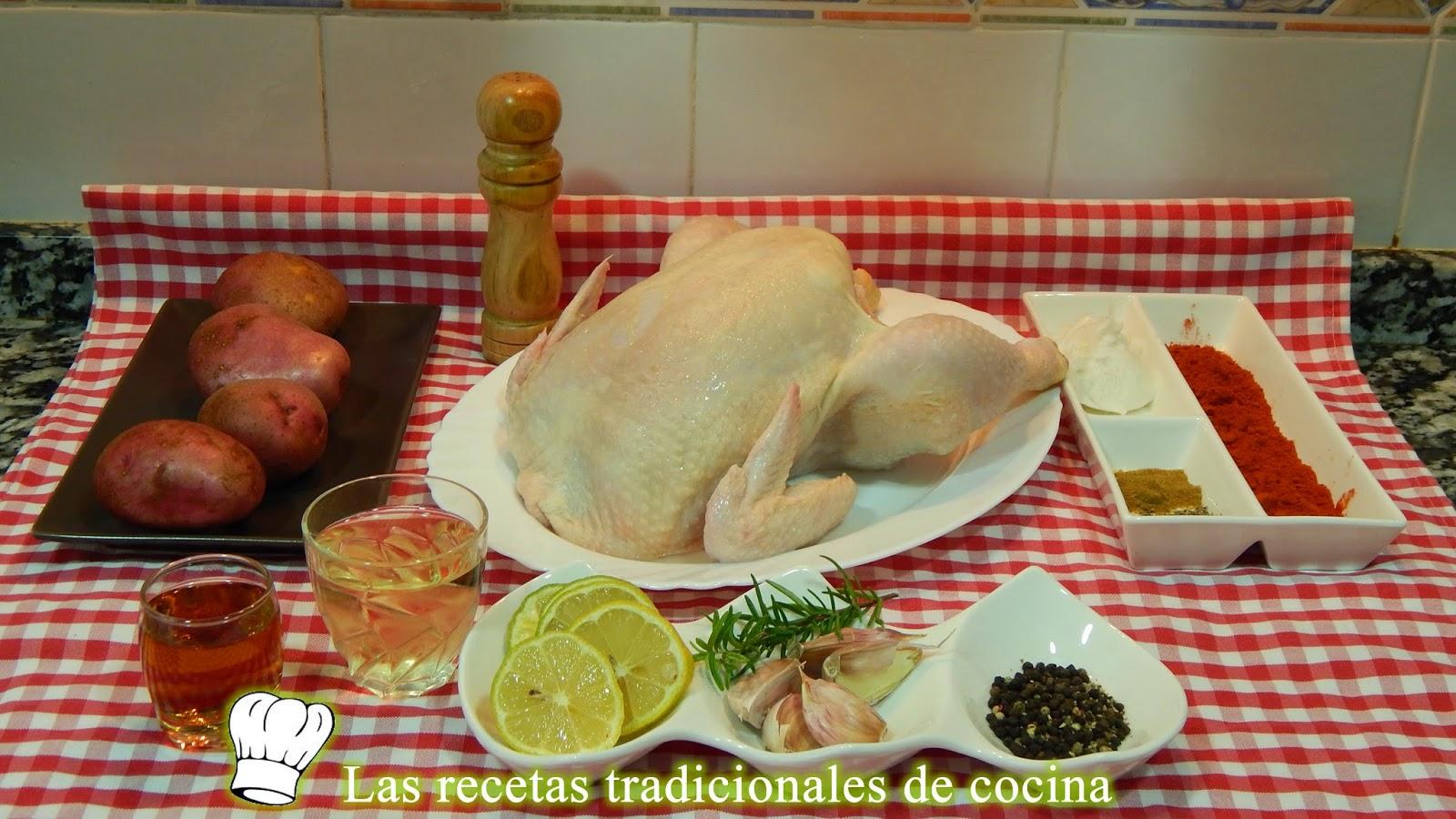 Receta de pollo adobado al horno