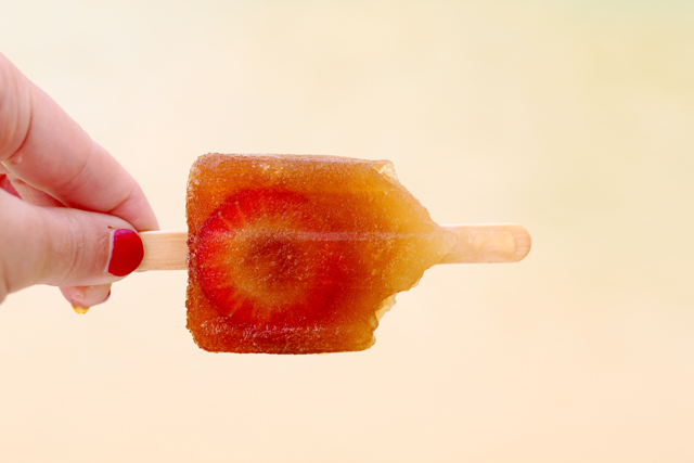 Pimmsicles popsicles