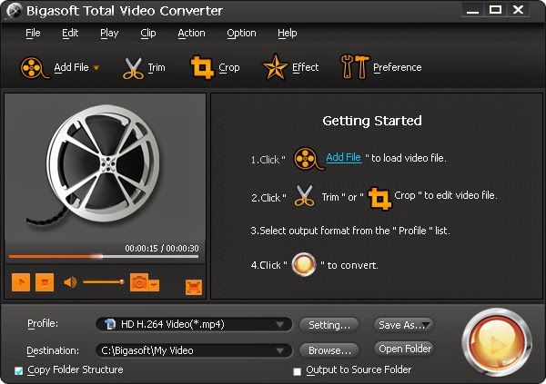 Bigasoft Total Video Converter v4.2.1.5186 Full İndir