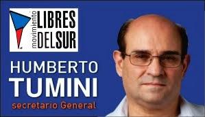HUMBERTO TUMINI<br>Sec. Gral de Libres del Sur