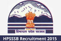 HPSSSB- Junior Engineer (Electrical/Civil), Sub Inspector of Police, Agriculture Extension Officer, Clerk ETC -jobs Recruitment 2015 Apply Online