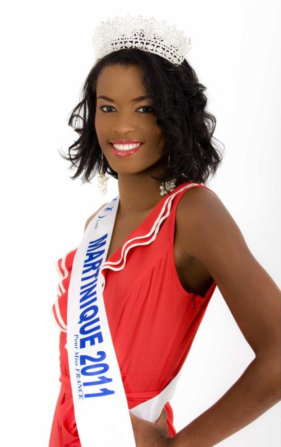 Miss Martinique-Charlene Civault