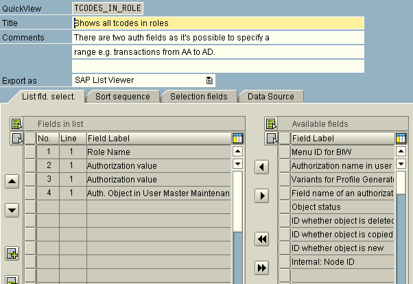 musings of an it implementor howto list all sap