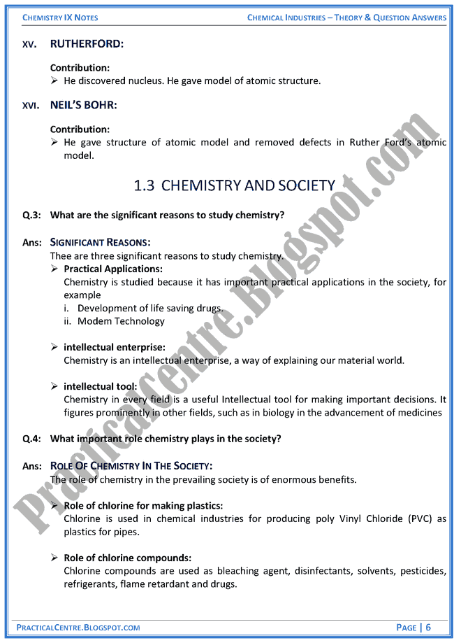 introduction-to-chemistry-theory-and-question-answers-chemistry-ix
