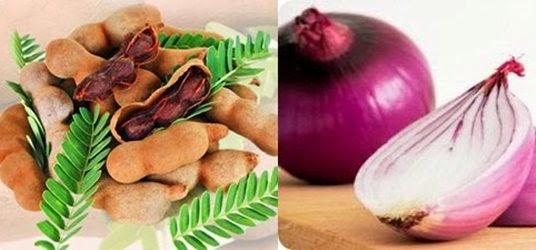 Tips mengatasi demam dengan bawang merah dan asam jawa