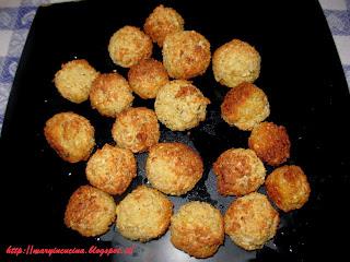 falafel ( polpettine di ceci ) al forno