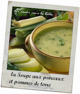 la Soupe aux poireaux et pommes de terre