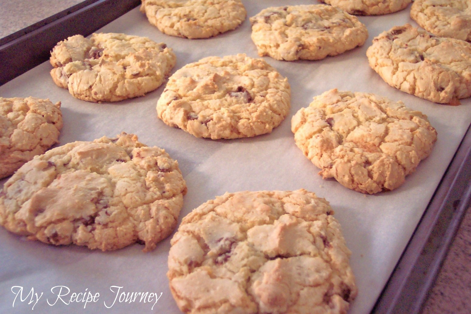 Almond Cookies Almond Joy Cake Mix Cookies