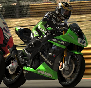 Kawasaki Ninja ZX-10R on SBK-X pc games