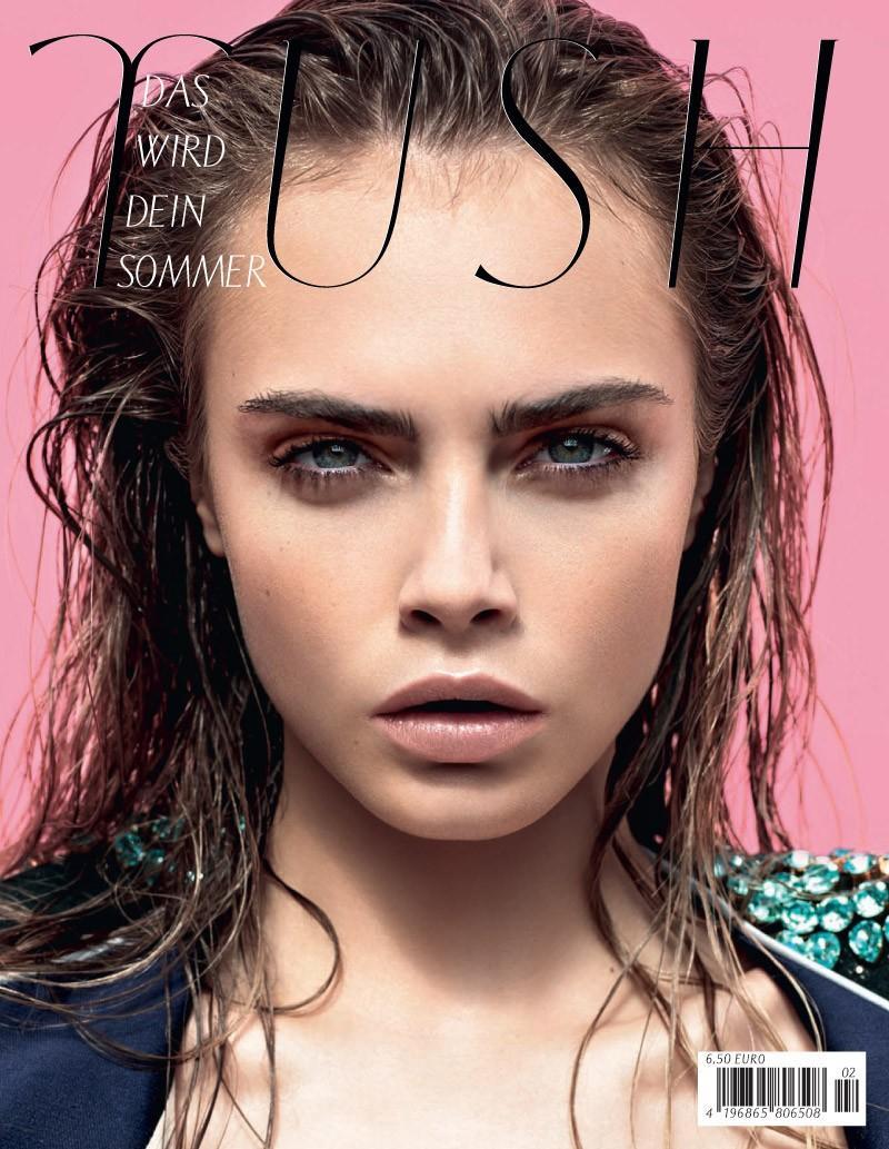 Tush Magazine June 2012: Cara Delevingne by Armin Morbach