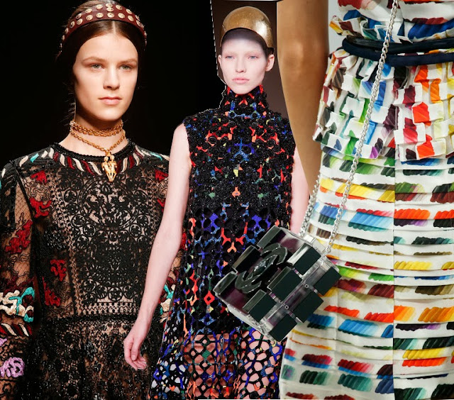 chanel, valentino, and mcqueen spring 2014 dresses