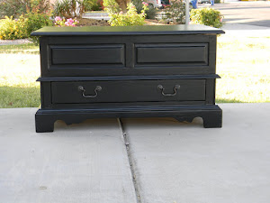 Black Coffee Table  *SOLD*