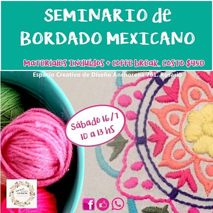 Seminario BORDADO MEXICANO